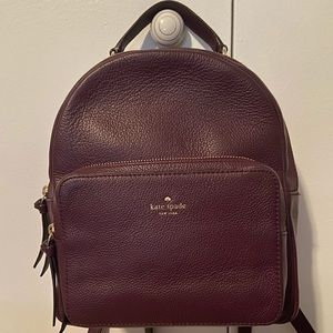Kate Spade Plum Backpack